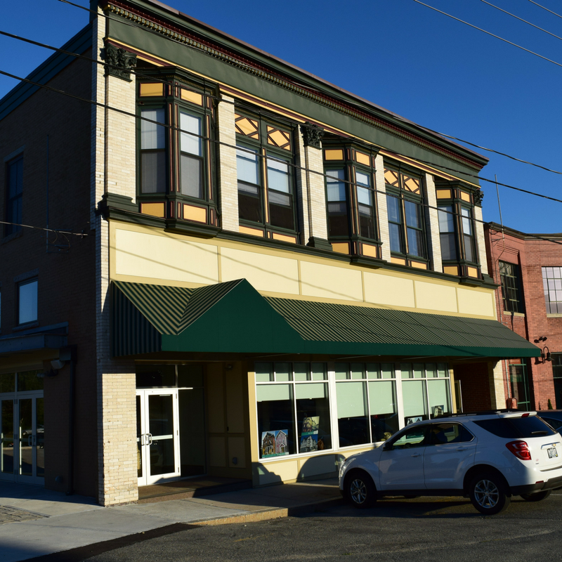 Our new event space and kitchen incubator located at 40 S Main St in Woonsocket.