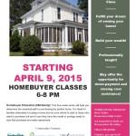 HomeBuyer Education Starting April 9th