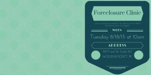 Foreclosure Prevention Clinic