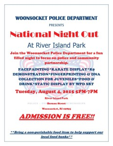 Woonsocket's National Night Out