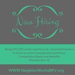 NWBRV Hiring for Senior Management Positions