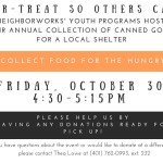 Trick-or-Treat so Others Can Eat Halloween Food Drive