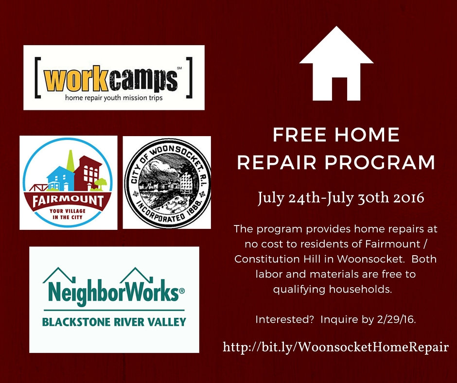 Woonsocket home repair program Home improvement software free