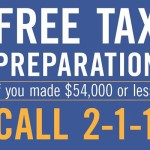 Free Tax Prep for RIers Earning $54,000 or Less