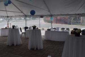 Outdoor patio venue