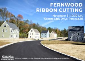 Fernwood Ribbon Cutting @ Fernwood | Burrillville | Rhode Island | United States