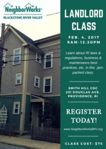 Landlord Workshop @ Smith Hill CDC  | Providence | Rhode Island | United States