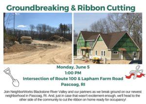 Groundbreaking & Ribbon Cutting - Greenridge @ Greenridge Commons | Burrillville | Rhode Island | United States
