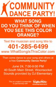 11x17 dance flyer