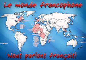 le monde francophone