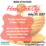 Battle of the Chefs – Honey Cook Off
