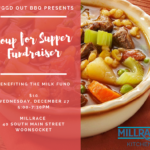 """Millrace Kitchen Member """"Buggd Out BBQ"""" Soup for Supper Fundraiser"""