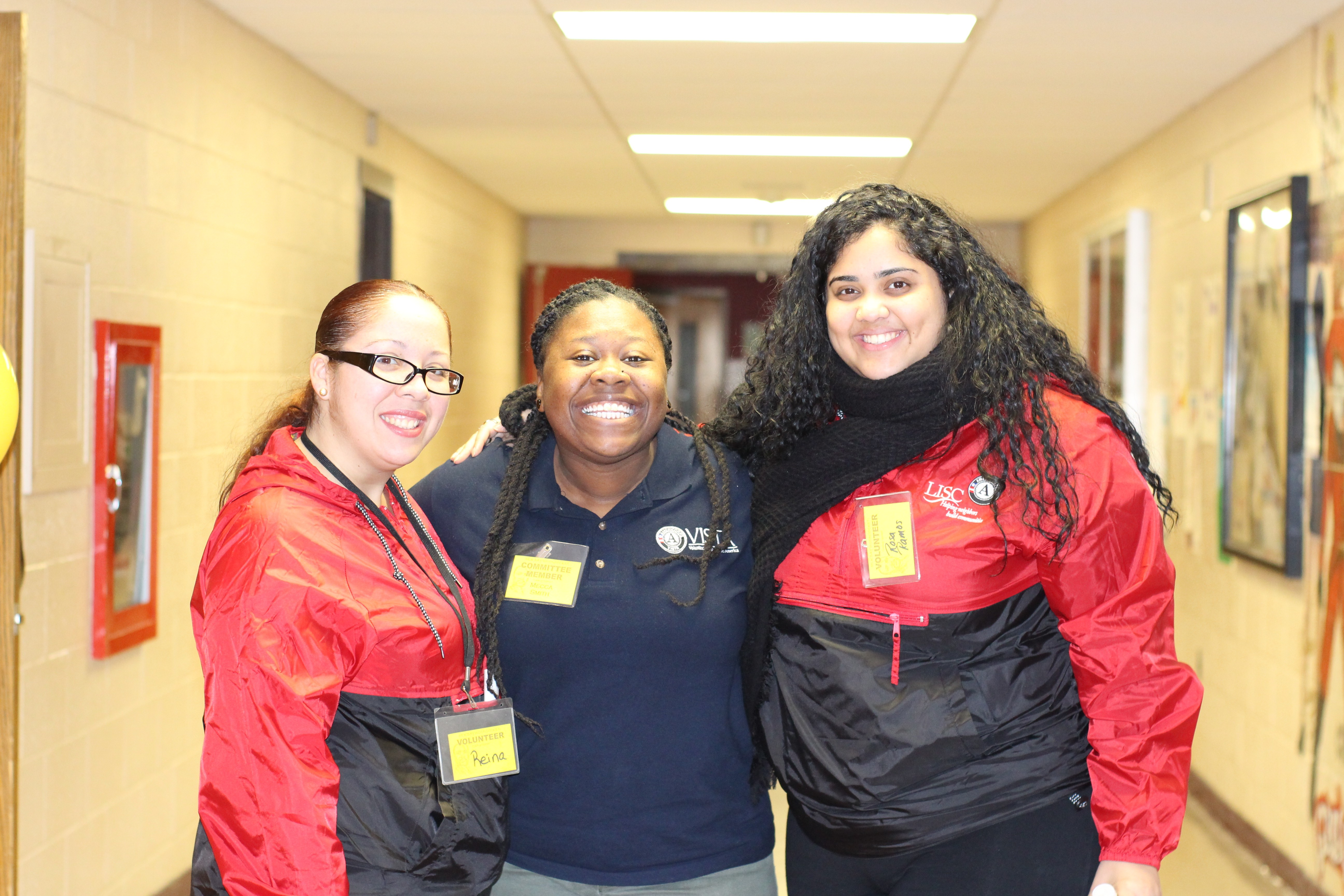 Mecca and Lisc Americorps