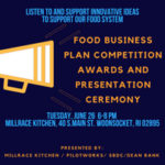 Millrace Kitchen Food Business Plan Competition