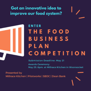 Food Business Plan Awards and Presentation Night @ 40 South Main Street | Woonsocket | Rhode Island | United States