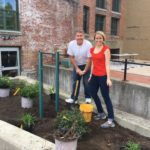 CVS Team Beautifies River Island Art Park
